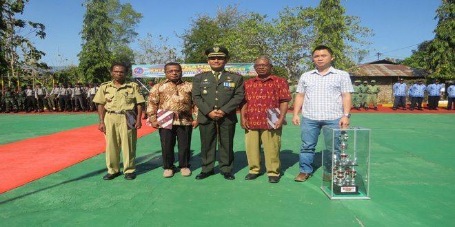 Peringatan HUT ke-69 TNI di Makodim 1622/Alor