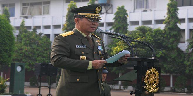 Kaskostrad Irup HUT ke-69 TNI di Makostrad