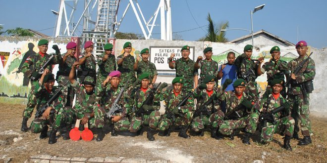 Pangdam IX/Udayana Tinjau Pulau Batek