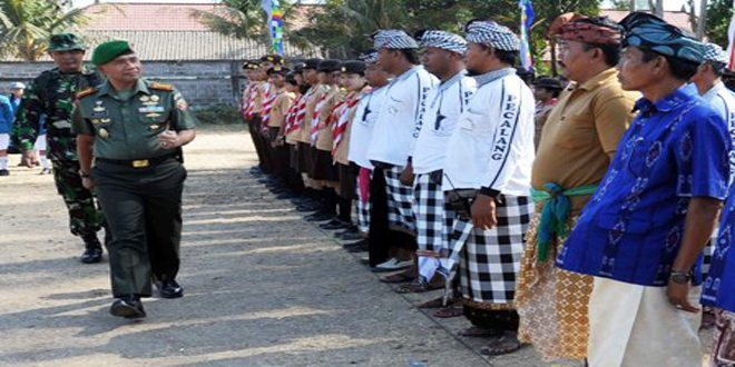TNI Manunggal Membangun Desa ke-93 TA. 2014 di Wilayah Kodam IX/Udayana