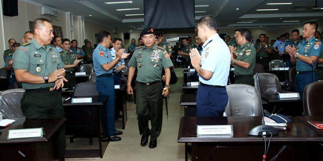 Panglima TNI bekali 134 Pasis Sesko TNI