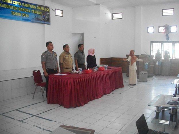 Mayor Arh Tiyoso Sosialisasikan Lomba Cipta Kampunga Aman