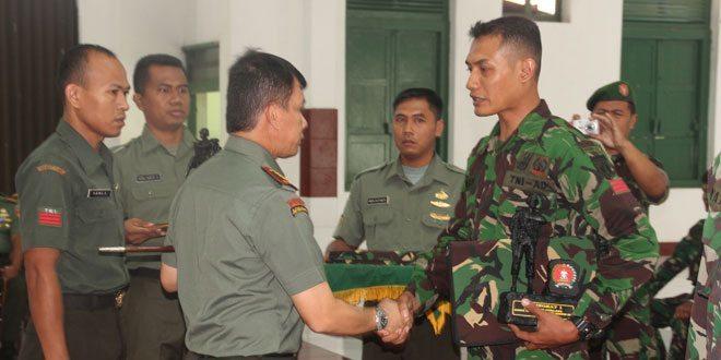 Danrindam IV/Diponegoro Menutup Kursus Tamudi Angmor Multi Korps TA. 2014