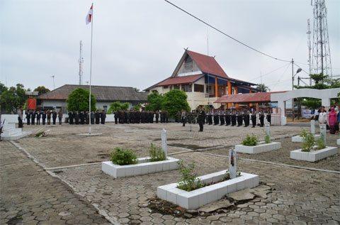 DANDIM 1005/MRB MENGHADIRI UPACARA PERINGATAN HARI PAHLAWAN