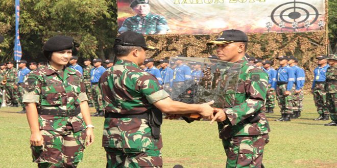 TNI AD Juara Umum Lomba Tembak Piala Panglima TNI