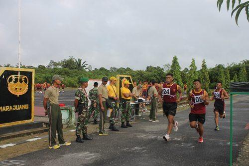 Yonif 644/Walet Sakti Garjas Persiapan Satgas Pamtas Indonesia-Malaysia