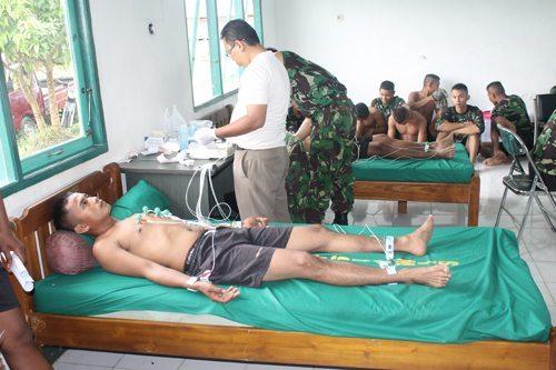 450 Prajurit Yonif 644/Walet Sakti Jalani Rikes Persiapan Satgas Pamtas Indonesia~Malaysia