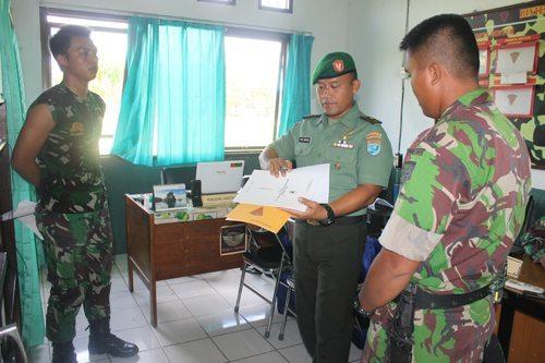 Tim Wasev Pekan Bhakti TNI Kunjungi Yonif 644/Walet Sakti