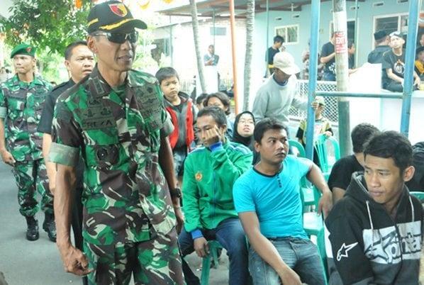 Komandan Korem 081/DSJ Hadiri Acara Suran Agung Tahun 2014