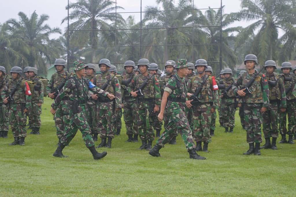Danrem 011/LW Buka latihan Pemantapan Raider Yonif 111 Raider