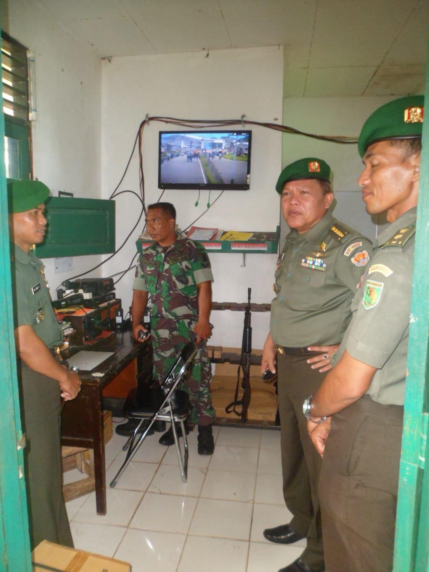 Asistensi Teknis Direktorat Perhubungan Angkatan Darat Ke Perhubungan Kodam XVII/Cenderawasih