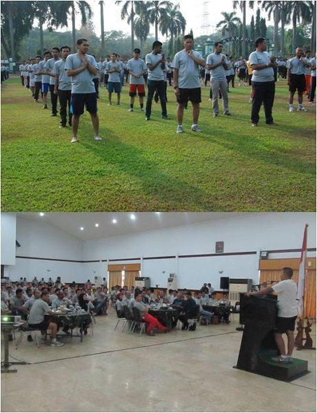 BEM Mahasiswa Se-Jadetabek Berkumpul di Kodam Jaya