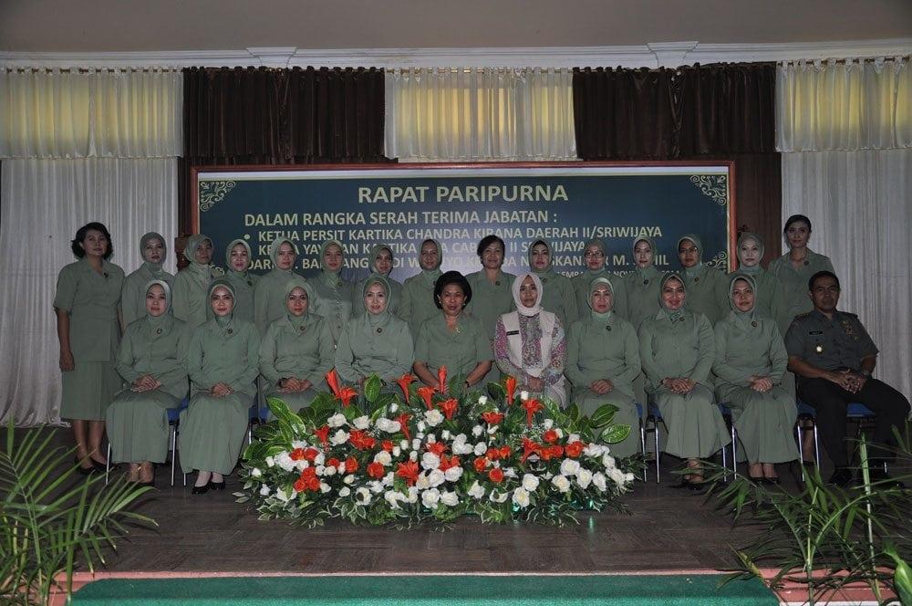 JELANG SERTIJAB PANGDAM II/SWJ, PERSIT RAPAT PARIPURNA