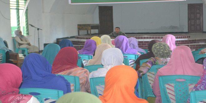 Persit Kck Cab XIII/Sorong Melaksanakan Kegiatan Pembinaan Mental