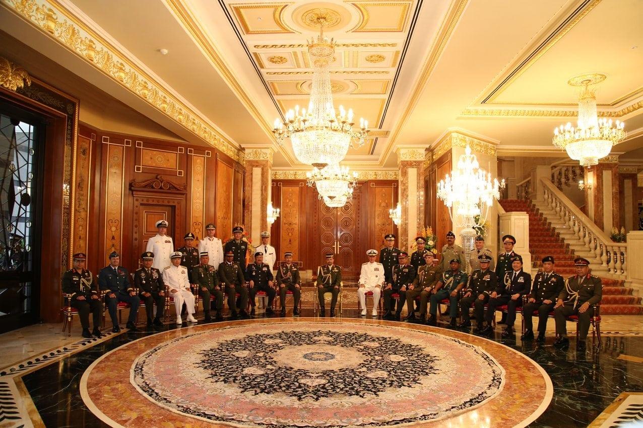Panglima TNI terima beberapa Pejabat Militer Asia-Pasifik di Brunei