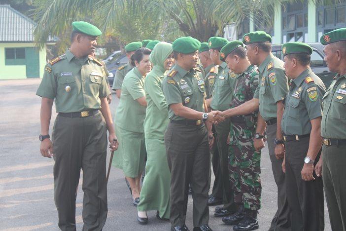 Kodim Bangka dikunjungi Danrem 045/Garuda Jaya