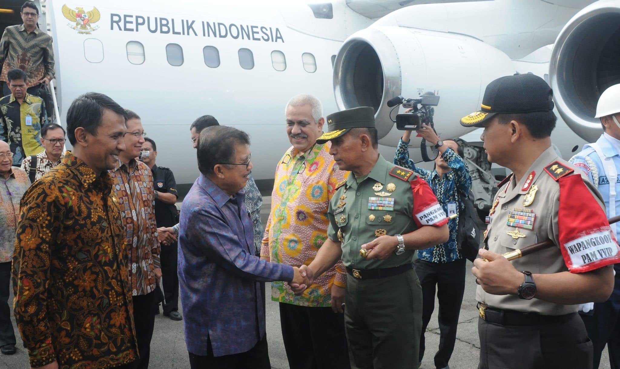 Wakil Presiden Republik Indonesia Buka Sidang Raya Persekutuan Gereja- Gereja Indonesia (PGI) XVI Tahun 2014 di Nias