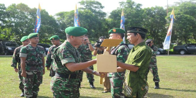 Pangdam XII/Tanjungpura Karya Bhakti TNI Wujudkan Kesejahteraan Rakyat