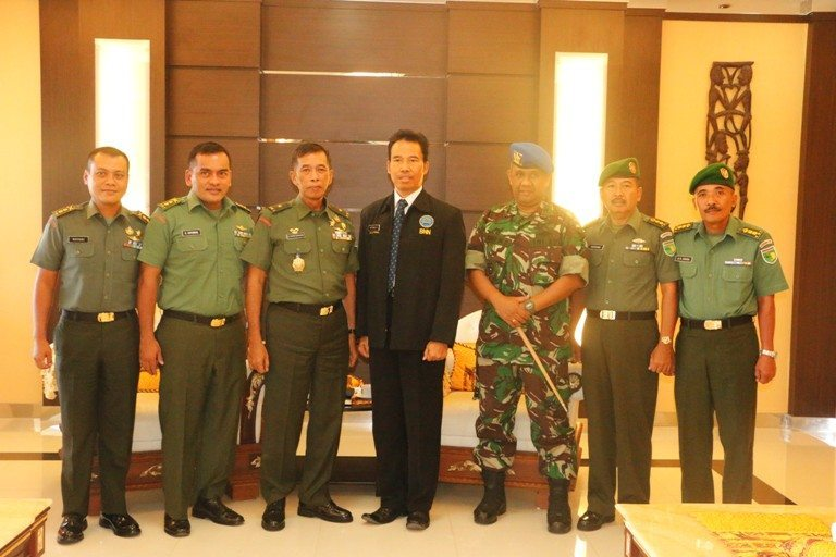 Ketua BNN Wilayah Papua Berkunjung Ke Kodam XVII/Cenderawasih