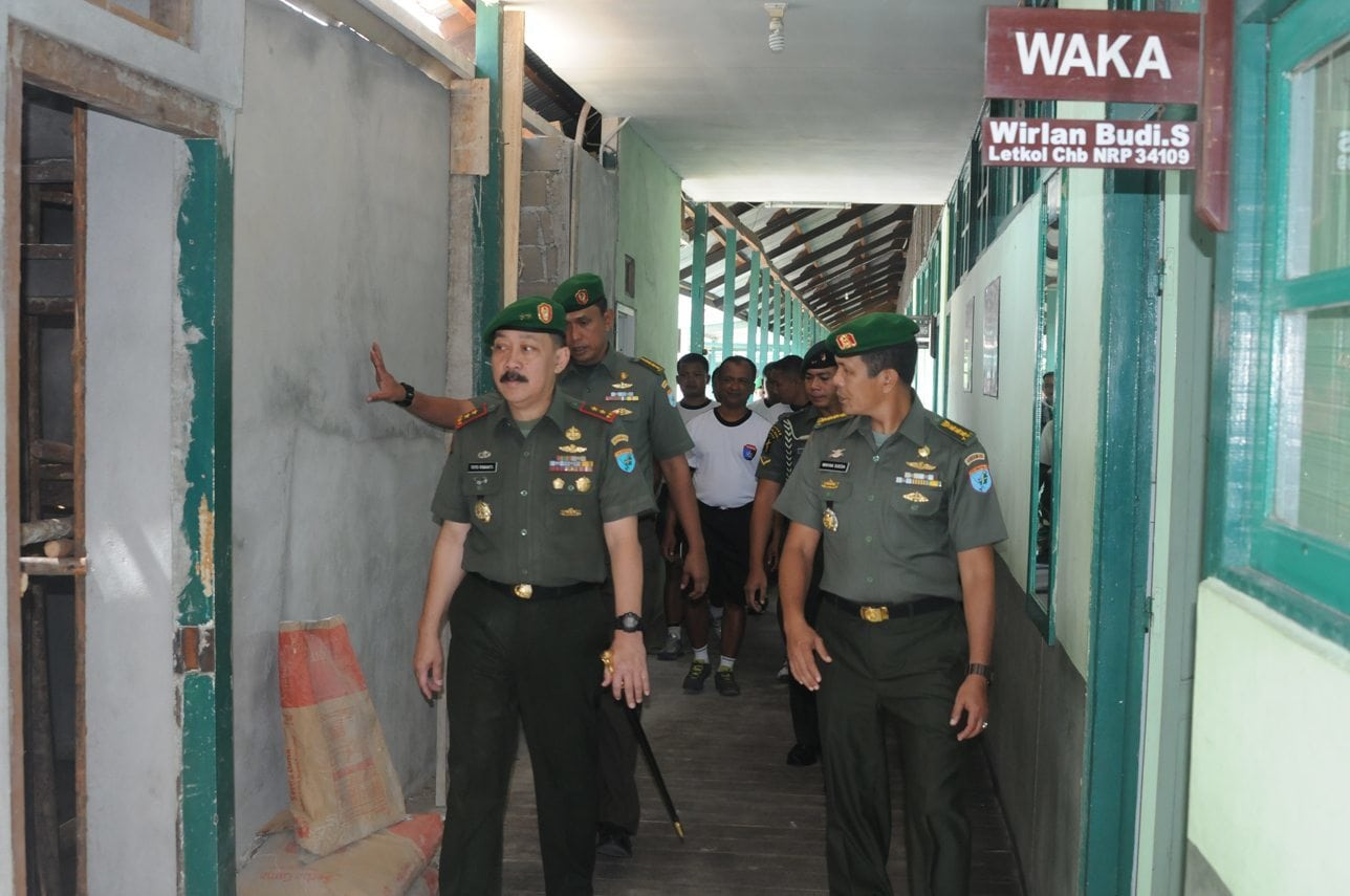 Pangdam XII/Tanjungpura Kunjungi Satuan Jajaran Balak