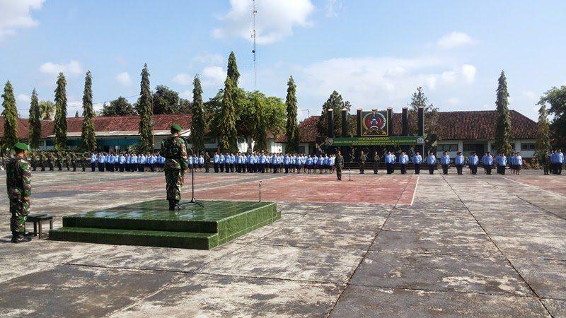 Upacara Pembukaan Pendidikan dan Pelatihan Teknis Alih Golongan II ke Golongan III PNS Angkatan Darat TA. 2014