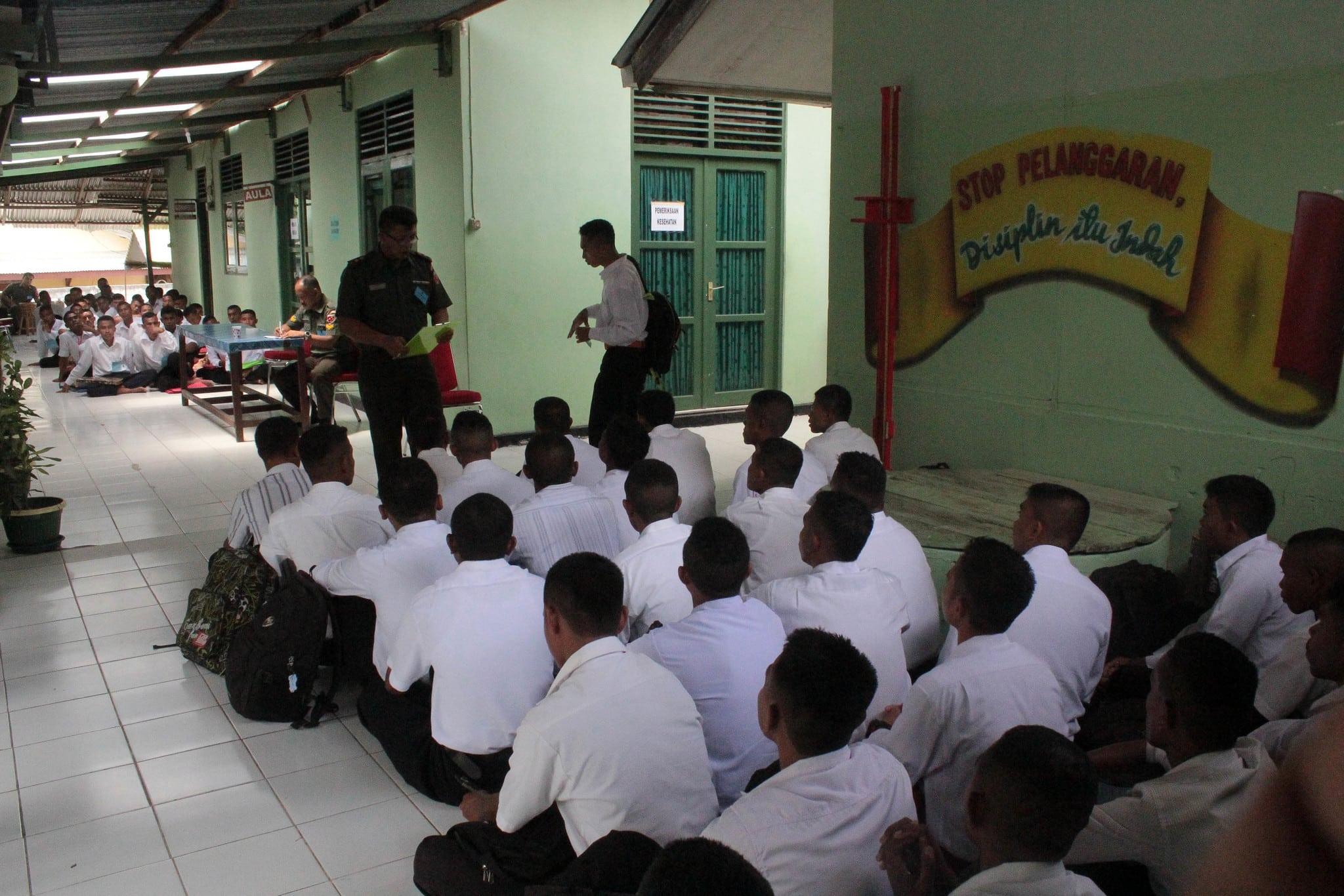 PENERIMAAN SELEKSI CATAM TNI AD