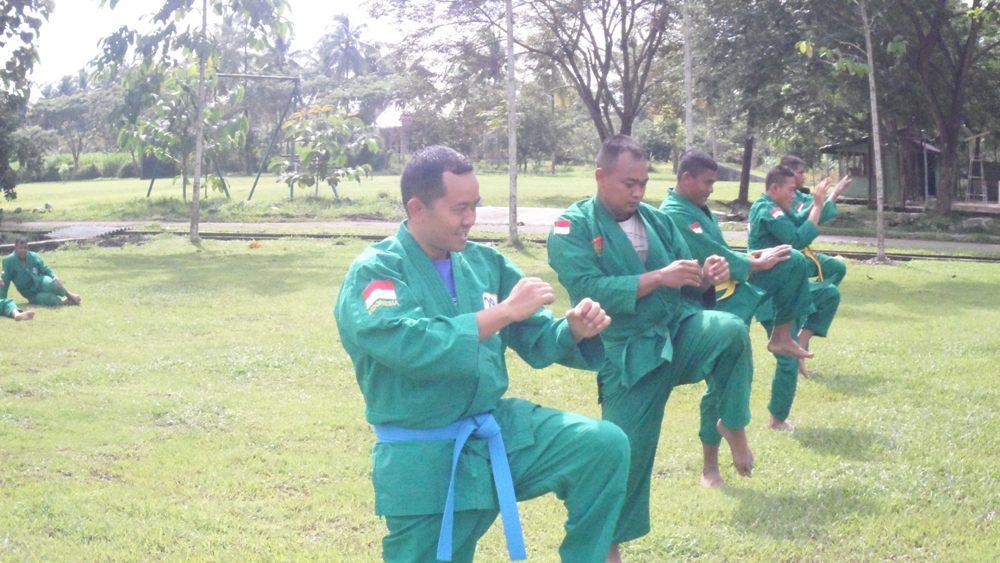 Latihan Yong Modo Yonif 113/Jaya Sakti