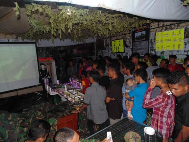 Stand TNI Terbaik I Kategori Pengunjung Terbanayak