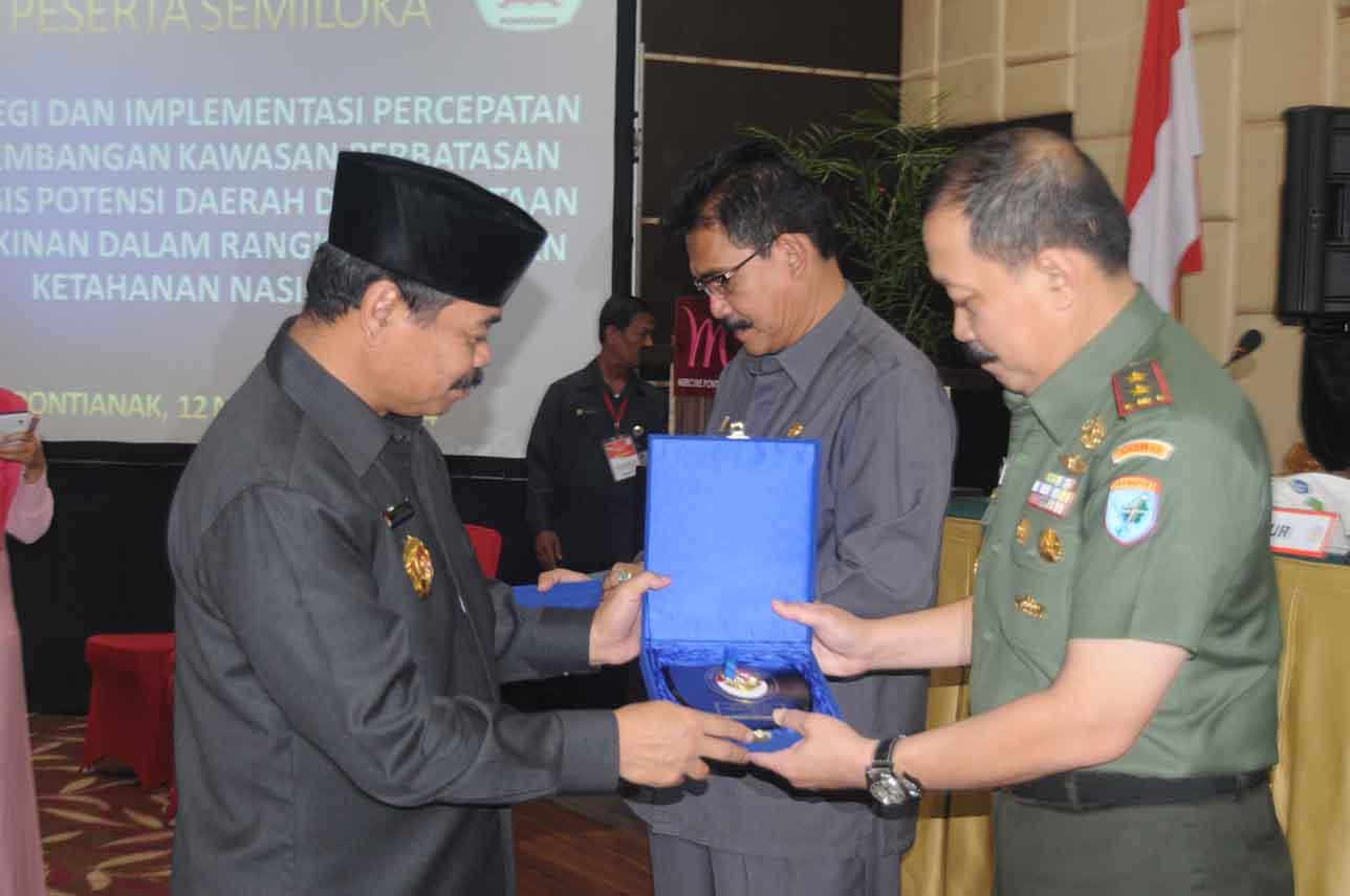 Pangdam XII/Tanjungpura Hadiri Seminar Wantanas