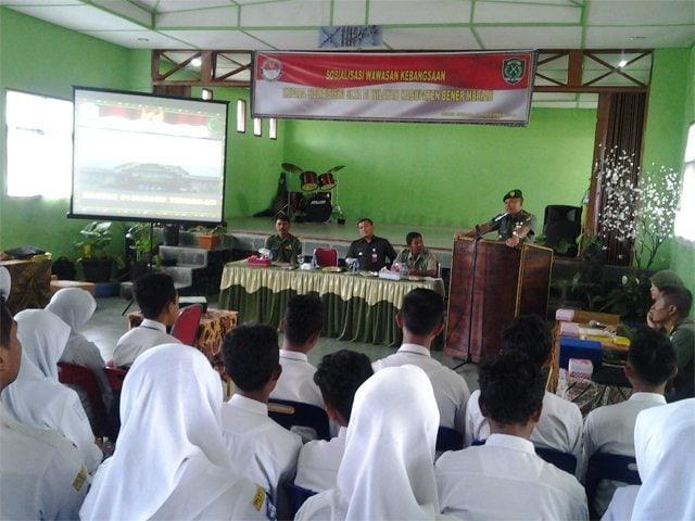 Kodim 0106/Ateng Gelar Sosialisasi Wawasan Kebangsaan Oleh Kemhan RI Korda Aceh