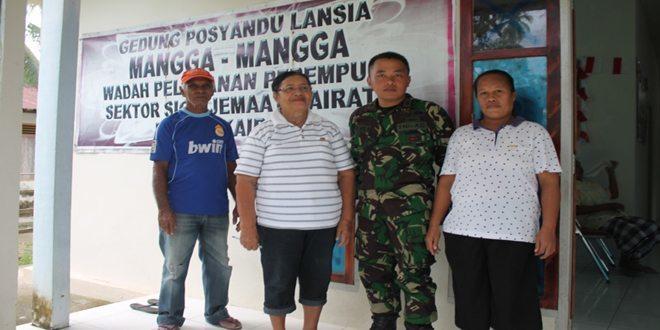 Satgas BKO Armed Gelar Bhakti Sosial di Lingkungan Masyarakat Kairatu