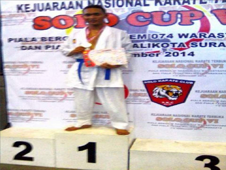 juara 1 karate cup kota solo 17-11-14