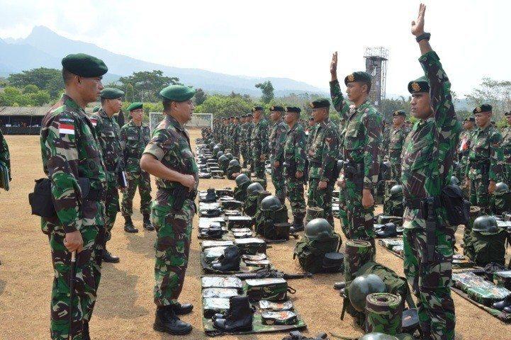 kasdivif 2 cek kesiapan satgas 514 Raider 31-10-14