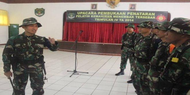 Penataran Pelatih Kemahiran Menembak Brigif 1 PIK/JS