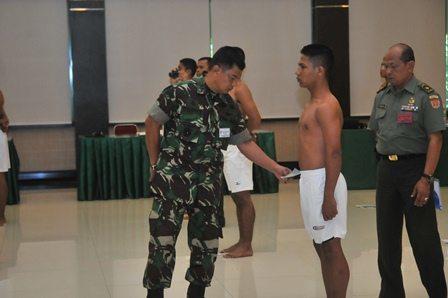 Sidang Pantohir Calon Tamtama TNI AD Kodam IX/Udayana