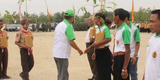 Penanaman 1 Milyar Pohon di Kabupaten Sragen