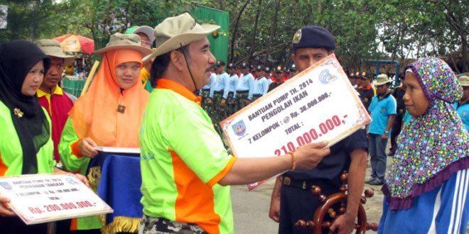 Gerakan Pantai Bersih di Kabupaten Tegal