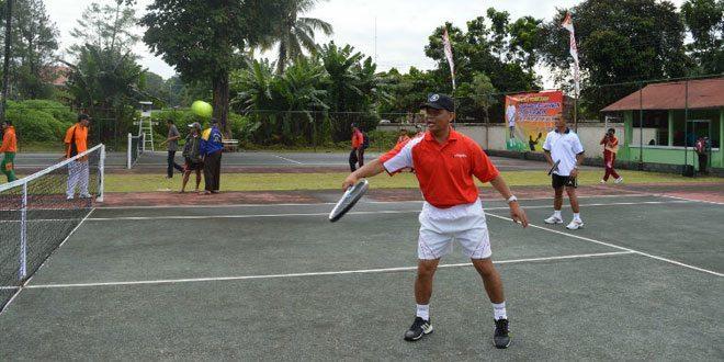 Team Tenis Kodim 0705/Mgl Ramaikan Piala Walikota Magelang