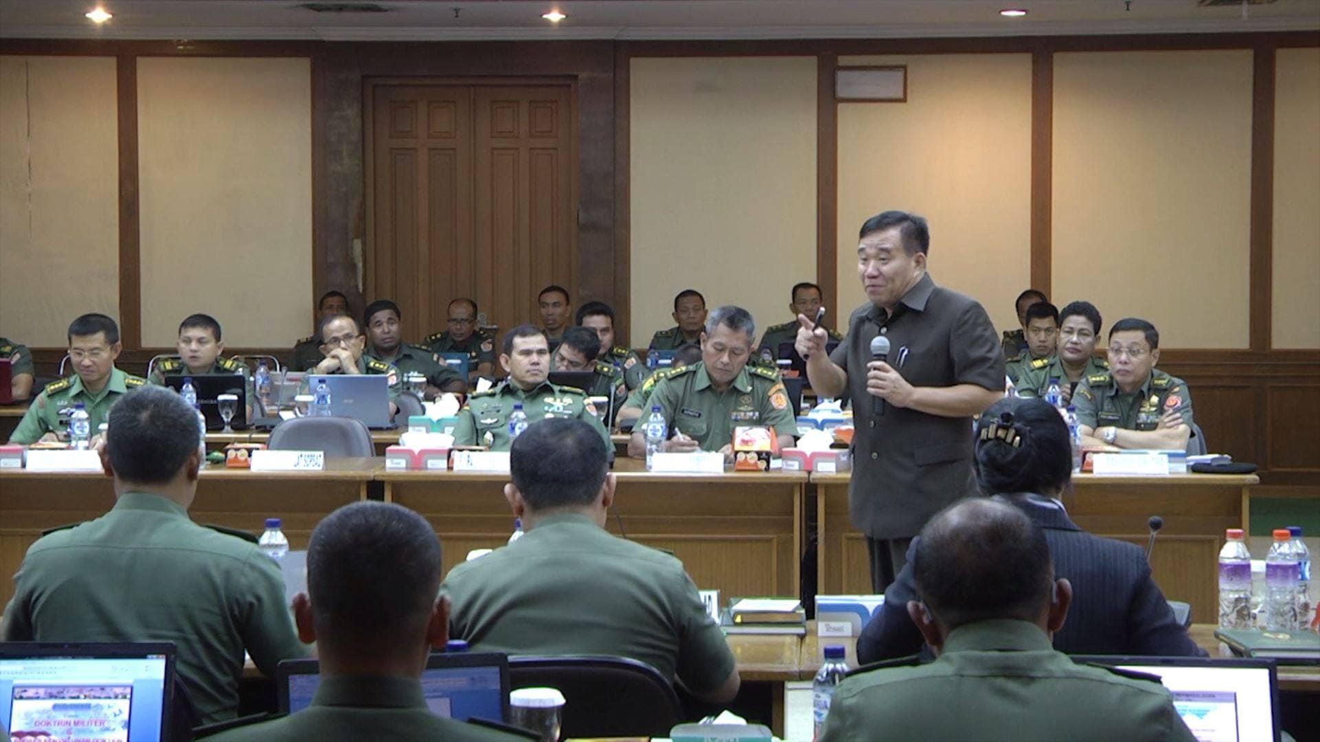 FGD DAN WORKSHOP DOKTRIN TNI AD TA 2014