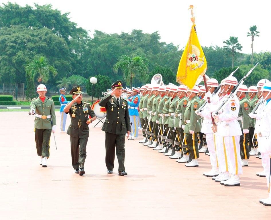 Pangab Thailand kunjungi Mabes TNI