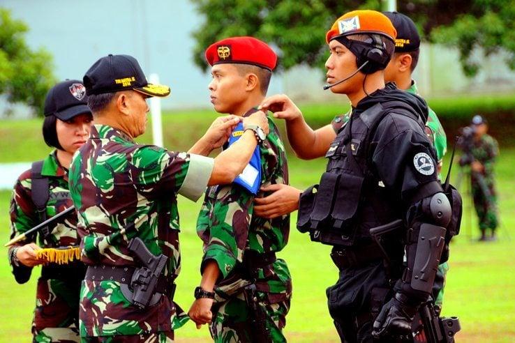627 Personel TNI Ikuti Latihan Gultor Tri Matra IX