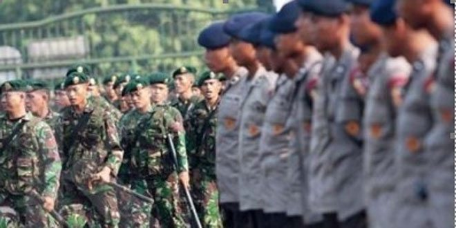 360 Polisi dan 37 TNI Amankan Natal di Kebumen