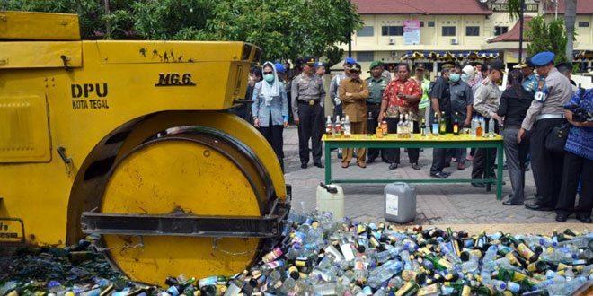 6000 Botol Miras Dimusnahkan