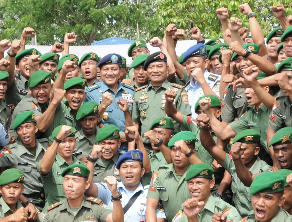Panglima TNI : Loyalitas TNI Tegak Lurus