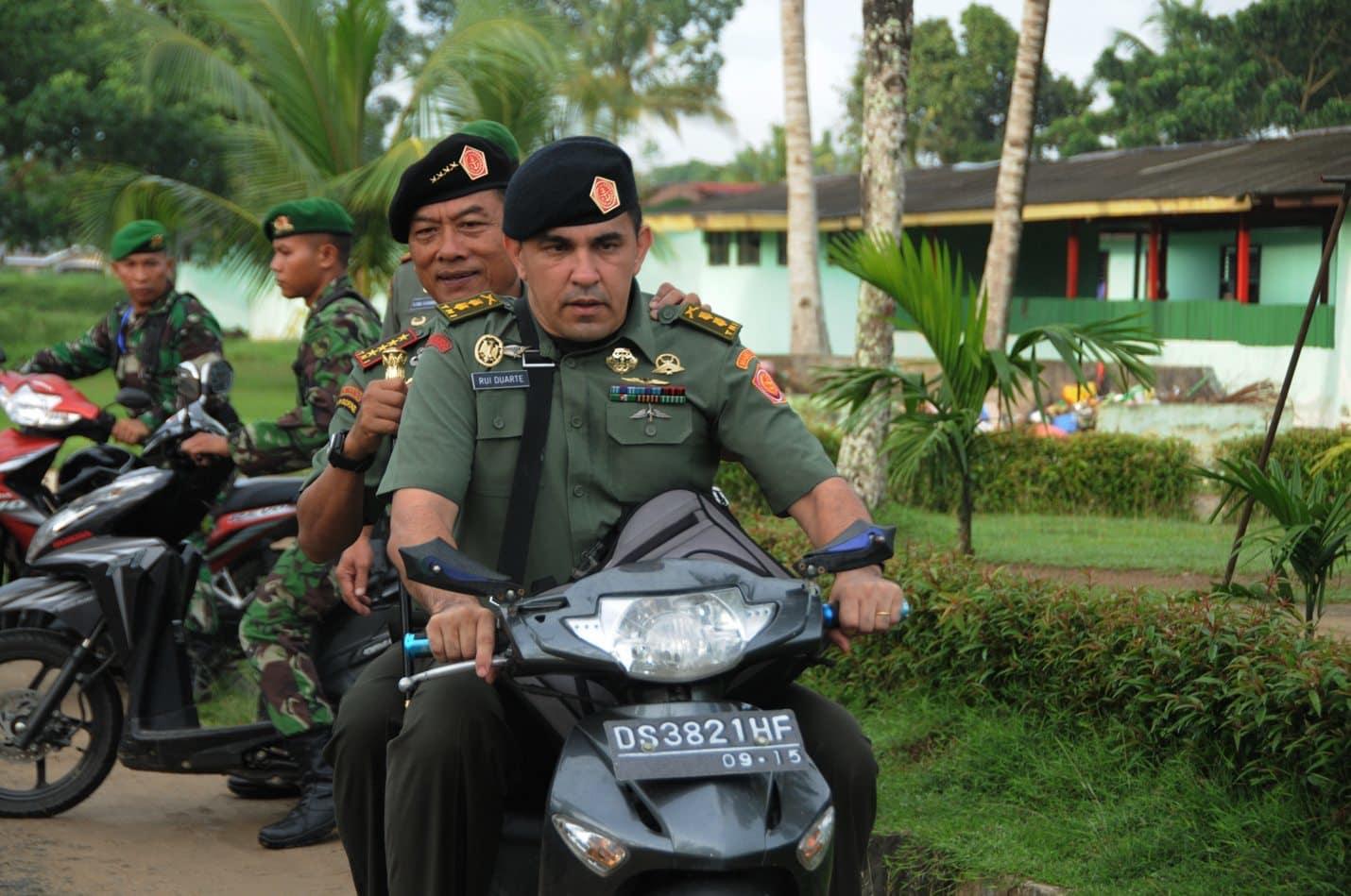 Panglima TNI Sidak Batalyon Infanteri 752 Papua Barat