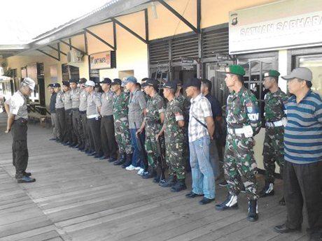 Walet Sakti Laksanakan Patroli Gabungan Segarnizun Kapuas Hulu