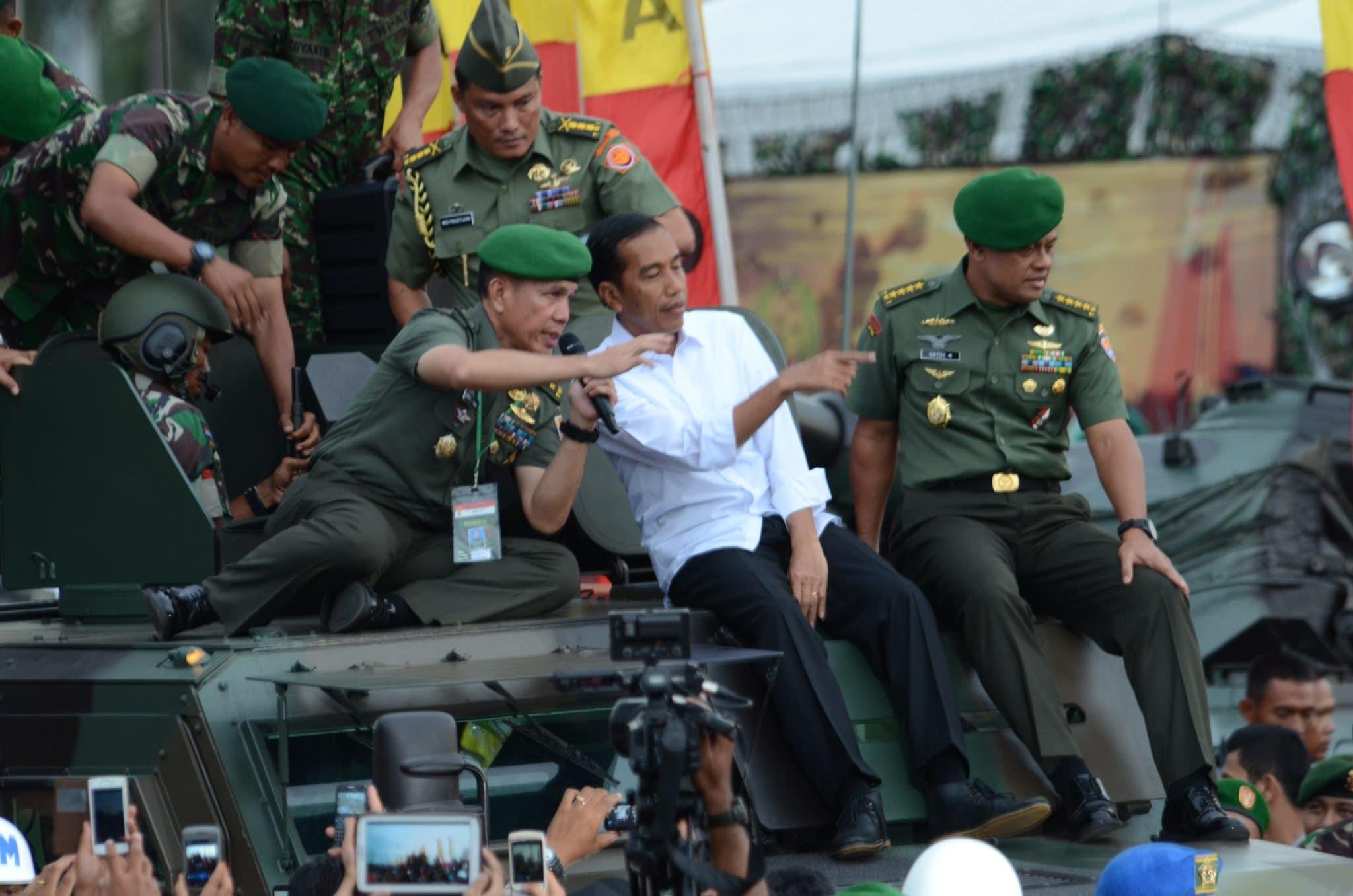PAMERAN ALUTSISTA TNI AD TAHUN 2014 di monas