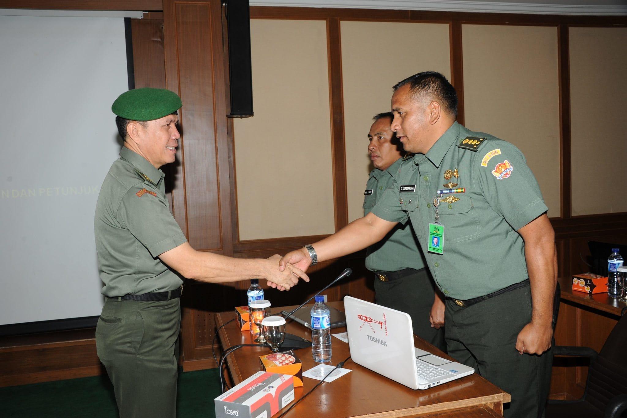 Asops Kasad Membuka Focus Group Discussion (FGD)