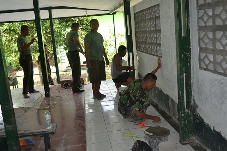 Renovasi Mushollah Istiqomah Makorem 172/PWY