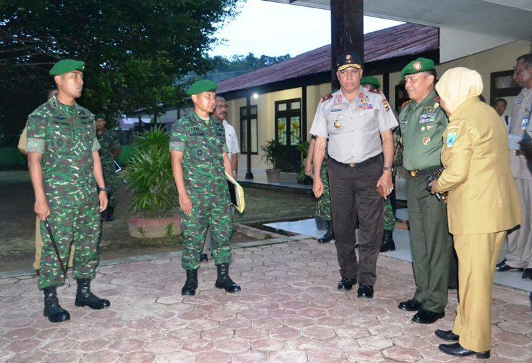 Panglima Kodam XVII/Cenderawasih Melaksanakan Kunjungan Kerja ke Wilayah Korem 171/Pvt